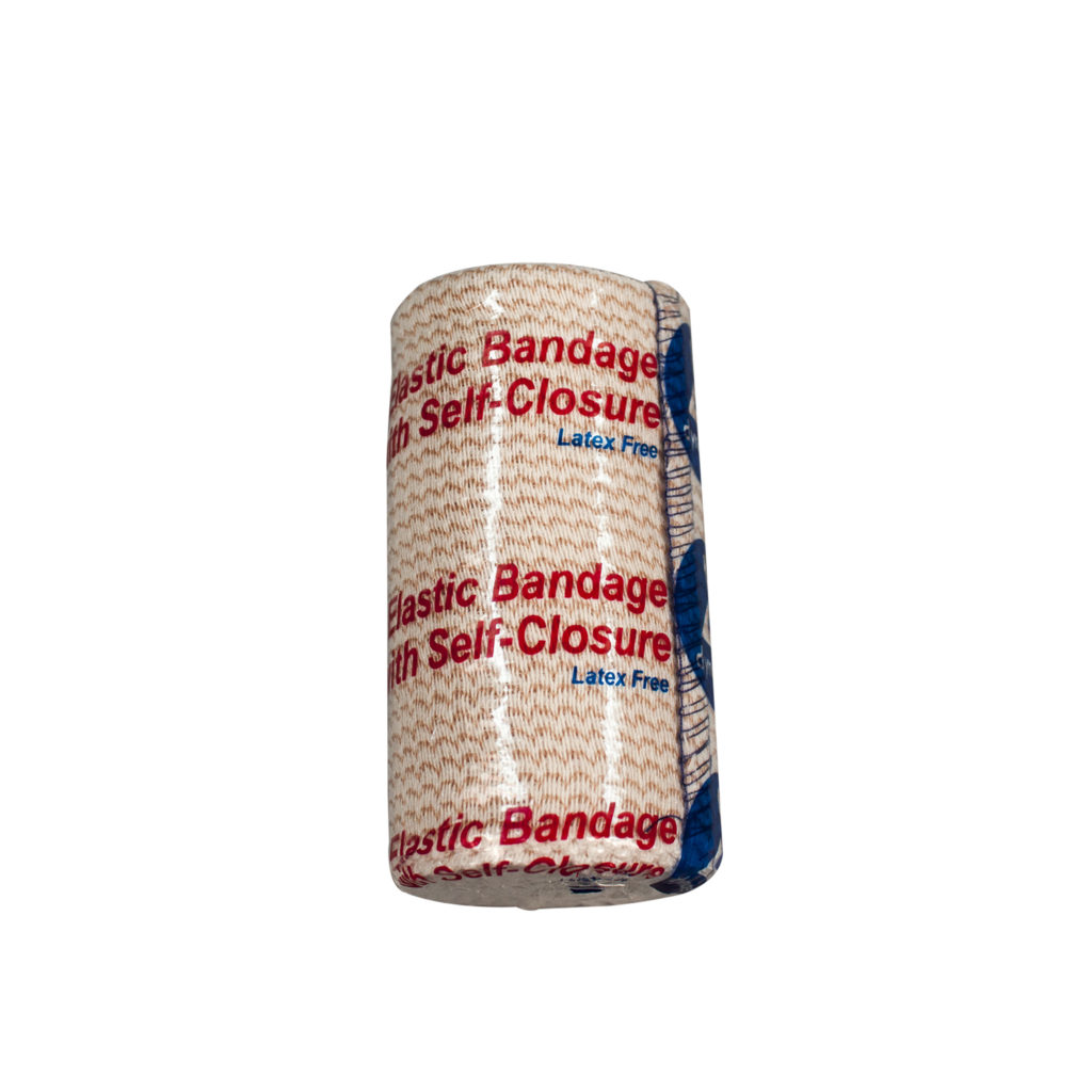 Elastic Bandage with Self Closure 3″ x 5yds Hook & Loop at Both ends