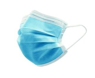 Disposable Surgical Face Mask Use for Medical Dental 3-Ply Ear-loop – Blue