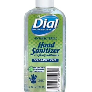 Dial Hand Sanitizer 4 oz