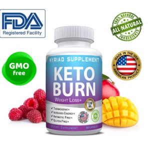 Keto Burn Diet Pills 1200mg Weight Loss Fat Burner Supplement